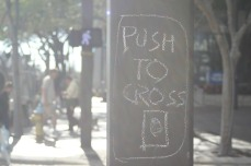 push to cross